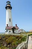 Pigeon Point Lighthouse. On California coast Stock Image