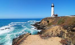 Free Pigeon Point Lighthouse Stock Images - 60223384