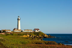 Pigeon Point Lighthouse in California Stock Photos
