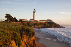 Pigeon Point Lighthouse in California Stock Image