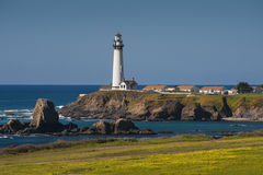 Pigeon Point Lighthouse, California Stock Image