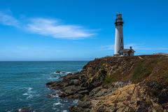 Pigeon Point Lighthouse, California Royalty Free Stock Photography