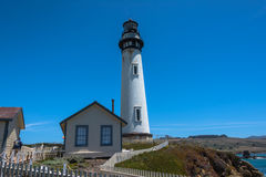 Pigeon Point Lighthouse, California Royalty Free Stock Photo