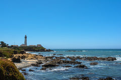 Pigeon Point Lighthouse, California Stock Photography