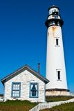 Pigeon Point Lighthouse. In Central California, USA Royalty Free Stock Images