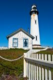 Pigeon Point Lighthouse. In Central California, USA Stock Photo