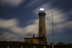 Pigeon point lighthouse royalty free stock image