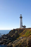 Pigeon Pointe Lighthouse. On the Pacific Coast Stock Photo