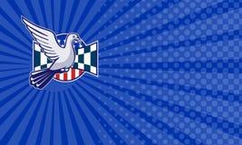 Pigeon Racing Business card Stock Photo