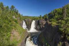 Pigeon River High Falls Stock Photo