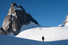 Pigeon spire, Bugaboos Stock Photo