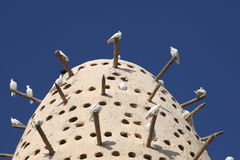 Pigeon tower in Doha Stock Photography