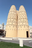 Pigeon tower in Doha, Qatar Royalty Free Stock Photography
