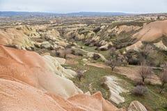 Pigeon valley, Cappadocia Royalty Free Stock Photography
