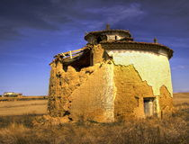 Pigeons House. In Lands of Castilla Royalty Free Stock Images