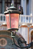 Pigeons on the lamp on the Piazza San Marco, Venice, Italy Royalty Free Stock Photos