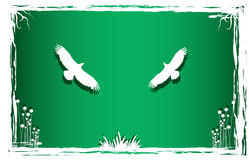 Pigeonsin art nature. Pigeons in art nature,workwith vectors ,illustrtion Royalty Free Stock Photo