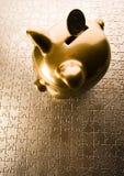 Pigg bank Royalty Free Stock Images