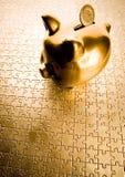 Pigg Querneigung lizenzfreie stockbilder