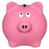 Piggibank dentellare Immagini Stock