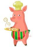 Piggie del panettiere Fotografia Stock Libera da Diritti