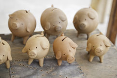 Piggies moneybox Stock Photography