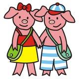 Piggies Stock Image