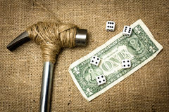 piggy αποταμίευση τοποθέτησης χρημάτων τραπεζών Στοκ Φωτογραφίες