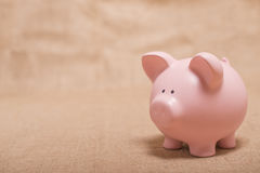 piggy αποταμίευση τραπεζών Στοκ φωτογραφίες με δικαίωμα ελεύθερης χρήσης