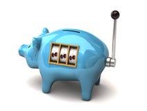 piggy αυλάκωση μηχανών Στοκ Εικόνα