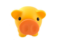 piggy κίτρινος τραπεζών Στοκ εικόνα με δικαίωμα ελεύθερης χρήσης