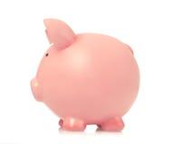 piggy πλάγια όψη τραπεζών Στοκ εικόνες με δικαίωμα ελεύθερης χρήσης