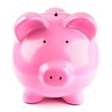 piggy ροζ τραπεζών Στοκ Εικόνα