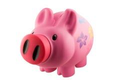 piggy ροζ τραπεζών Στοκ φωτογραφία με δικαίωμα ελεύθερης χρήσης
