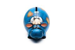 Piggy τράπεζα αγελάδων Στοκ Εικόνες