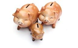 Piggy-τράπεζα Στοκ φωτογραφίες με δικαίωμα ελεύθερης χρήσης