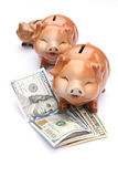Piggy-τράπεζα Στοκ Εικόνες