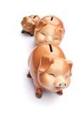 Piggy-τράπεζα Στοκ φωτογραφία με δικαίωμα ελεύθερης χρήσης