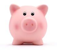 Piggy банк изолированный на белой предпосылке Стоковые Изображения