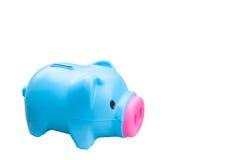 Piggy банк изолированный на белой предпосылке Стоковые Фотографии RF