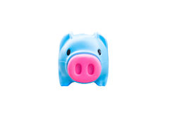 Piggy банк изолированный на белой предпосылке Стоковая Фотография RF