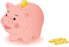 Piggy stock illustratie