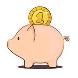 Piggy Stockfoto
