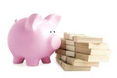 Piggy ban Royalty Free Stock Image