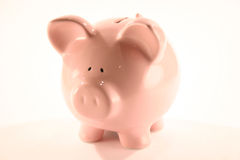 Piggy Bank. Funny Piggy Bank Royalty Free Stock Photos