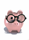 Piggy bank. This is a 3d render illustration Stock Photos