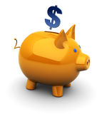 Piggy bank Royalty Free Stock Photos