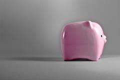 Piggy Bank. Pink piggy bank saving or money-box Royalty Free Stock Image