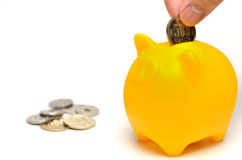 Piggy bank. Royalty Free Stock Images