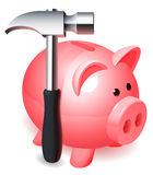 Piggy bank. Royalty Free Stock Image